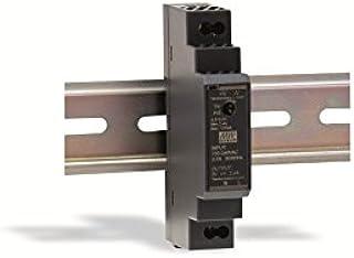 DIN-rail voeding 15W 12V 1,25A; MeanWell HDR-15-12; DIN-rail transformator