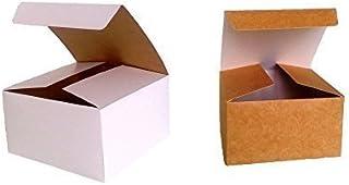 Paquete con 10x montaje Caja de Regalo (Código # B) cartón plano paquete montaje Caja de Regalo apto para chocolate, joyas, pequeño Regalos