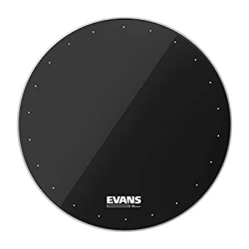 Evans EQ1 Resonant Black Bass Drum Head 22 Inch