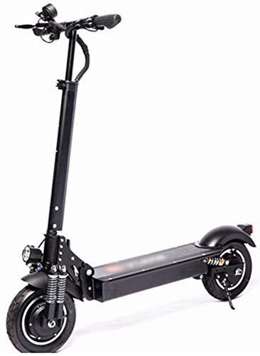 CHNG Scooters para Adultos Movimiento Deslizante Plegable 36V 18Ah Scooter eléctrico 1000W Speedway Scooter eléctrico