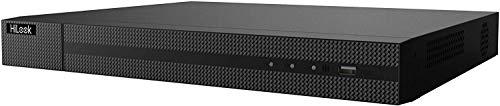 Hilook DVR-216Q-K1 16 canales 4MP 1080P HD-TVI/AHD CCTV DVR grabadora P2P -Negro (sin HDD)