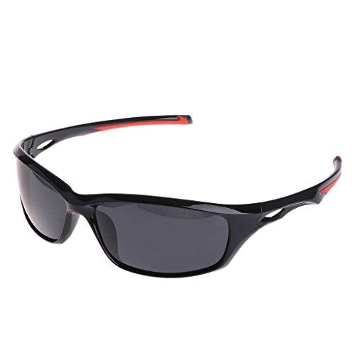 Logres Gafas de pesca Ciclismo Polarizadas al aire libre Gafas de sol de viaje deporte UV400 para hombres y mujeres (#006)