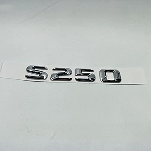 DDNAF Compatible con Mercedes Benz Clase S W220 W221 S220 S250 S300 S320 S350 S420 S450 letras traseras emblema insignia insignia insignia