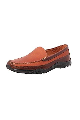 Allen Edmonds Men's Boulder Slip-On Loafer,Tan/Brown,11.5 D US