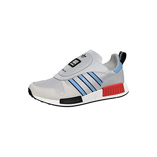 adidas Originals Micropacer X R1 Never Made, Silver Metallic-Light Blue-Footwear White, 8,5 ✅