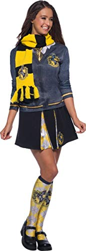 Harry Potter House Hufflepuff Delxue Costume Scarf - One Size