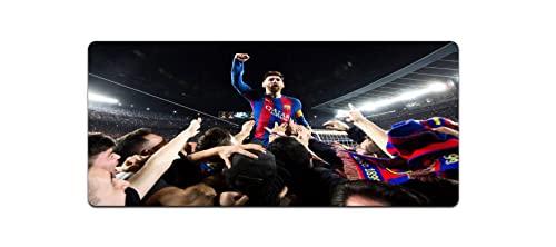 Fußball-Mauspad Messi Ronaldo Übergroßes Paris Manchester United Liverpool Real Madrid Barcelona Chelsea Bayern Herren-Tischset