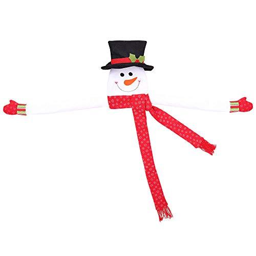 Guirnalda Luces Navidad Árbol De Navidad Estrella Superior Muñeco De Nieve Decoraciones Centro Comercial Hogar Decoración del Árbol De Navidad Artículos @ Trompeta Roja