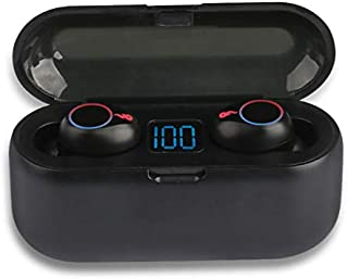 Wireless Earbuds, LED Display, Bluetooth Headphones, TWS 8D HiFi Noise Cancelling Headset Game No Delay Bluetooth 2000MAH ...