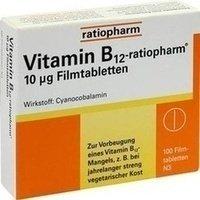 VITAMIN B12 ratiopharm 10 µg Filmtabletten 100 St