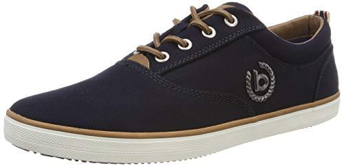 bugatti Herren 321502046900 Sneaker, Blau, 44 EU