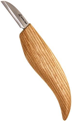 BeaverCraft C2 SCHNITZMESSER aus kohlenstoffreichem Stahl von BeaverCraft messerscharfes Holzwerkzeug ist ideal für Anfänger und professionelle Schnitzer Holzschnitzerei Messer für Holzschnitzen