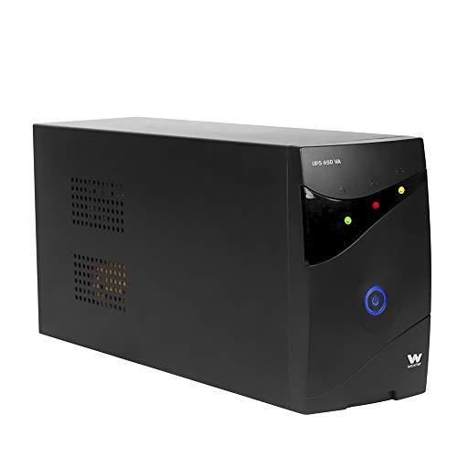 Oferta de Woxter UPS 650 VA - Sistema de Alimentación Ininterrumpida SAI (650VA/360 watts, Autonomía aprox 8 minutos)