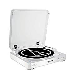 Best music gifts for musicians: Audio-Technica Bluetooth Turntable