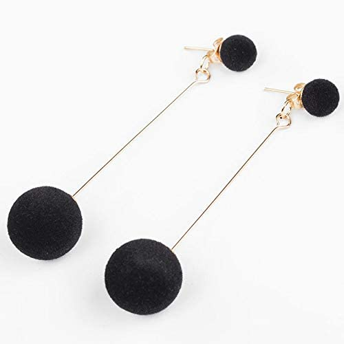 Fashion long tassel round earring