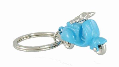 Unbekannt Motorroller Schlüsselanhänger Motorrad blau MTM-SH-08