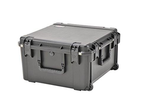 SKB 3I-2222-12BE - Estuche para equipo de DJ, 57,2 x 57,2 x 31,8 cm (resistente al agua), color negro
