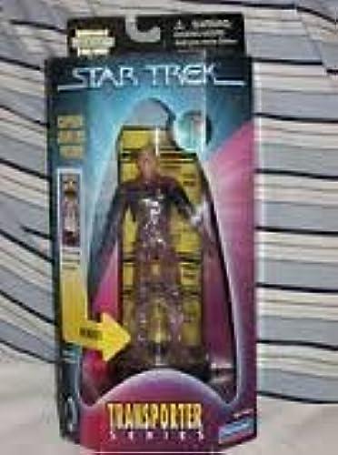 gran descuento Star Trek Transporter Series Captain Jean-Luc Picard Action Action Action Figure by Playmates  los clientes primero