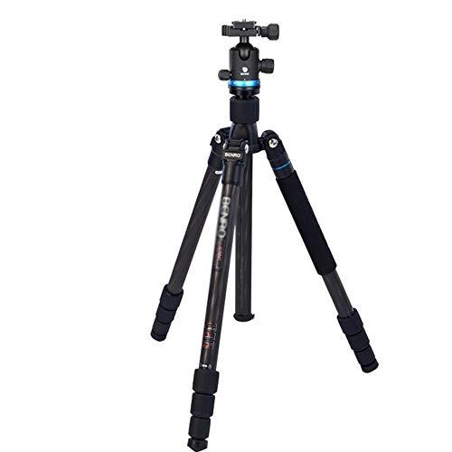 YAzNdom Tragbares Reisestativ Outdoor Kompaktkamera Stativ Einbeinstativ geeignet für mobile digitale Spiegelreflexkameras Reisen und Arbeit geeignet für Reisen, Schwarz , Einheitsgröße