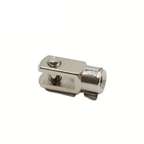 QJKW Partes neumáticas Accesorios de Cilindros Tipo Y Tipo Pin de Juntas Universal M6 / M8 / M10 / M12 / M16 / M20 / M27 / M36 / M42 Piezas neumáticas fáciles de Usar, Resistentes y d