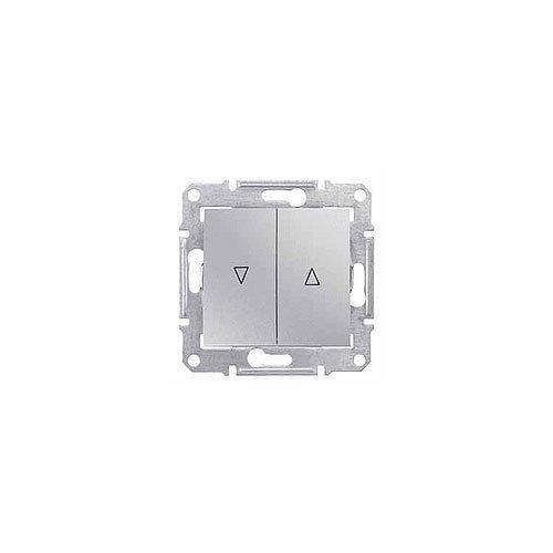 Schneider Electric SDN1300360 Interruptor de Persianas, Aluminio