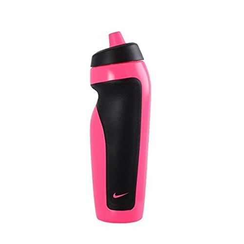 Nike 9341/1 Sport Water Bottle Trinkflasche, Pink Pow/Black, 600 ml