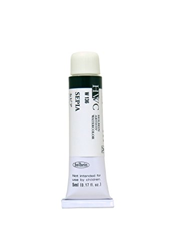 Holbein Watercolors Sepia 5 ml tube