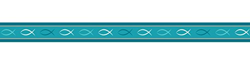 Ursus 590500110 - Masking Tape Prayer, 15 mm x 10 m, fische
