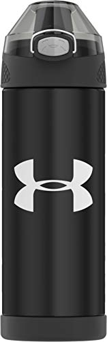 Under Armour, 16 oz, Black Protege 16 Ounce Stainless Steel Water Bottle