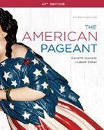 The American Pageant  Ap Edition 15th edition by Kennedy David  2012  Hardcover