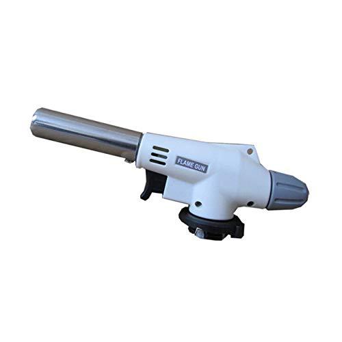 Duradero Antorcha de gas llama pistola sopladura de cocción soldadura butano autoignición gas-quemador de gas calentador de calentamiento de soldadura quemador de gas llama para Creme Brulee, Cocina,