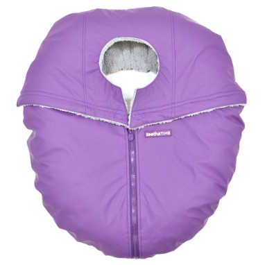Cheapest Price! Triboro CT32706 Soothe time Car seat Cover44; Weather Shield - Plum and Gray