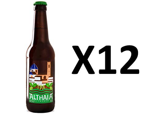 Cerveza Artesana Althaia IPA, Pack de 12 botellas
