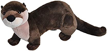 """Save on Wild Republic 10949 River Otter, Stuffed Animal, Plush Toy, Gifts for Kids, Cuddlekins, 15"""" and more"""
