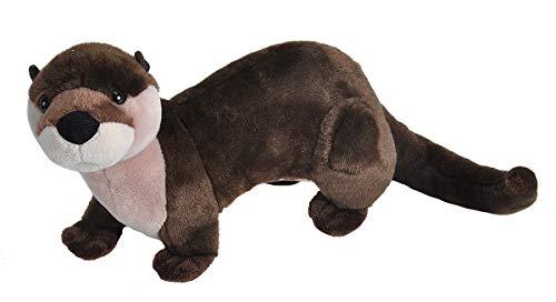 "Wild Republic River Otter Plush, Stuffed Animal, Plush Toy, Gifts for Kids, Cuddlekins 12"""