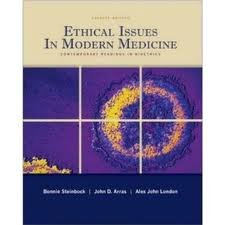 Ethical Issues In Modern Medicine: Contemporary Readings in Bioethics 7th (seventh) edition