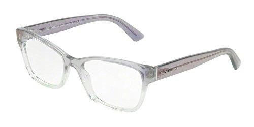 Dolce & Gabbana Gafas anteojos DG3274 3137 multi-color de marco de plástico del tamaño de 52 mm de gafas de sol de las mujeres