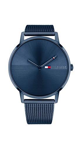 Tommy Hilfiger Damen Analog Quarz Uhr mit Edelstahl Armband 1781971