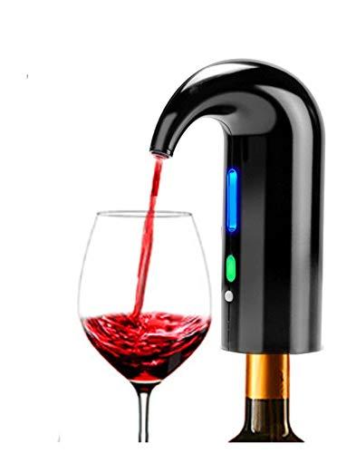 LGLSG Electric Wine Pourer, Vino Inflable avanzado y Decanter Water Outlet Stopper Dispensador automático Multifuncional de Vino, Adecuado para familias, Fiestas y Lugares de Alta Gama