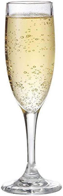 G E T Enterprises Clear 6 Oz Champagne Break Resistant Dishwasher Safe San Specialty Drinkware Collection SW 1401 1 SAN CL Pack Of 12