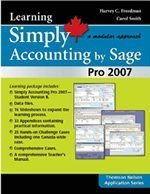 Learning Simply Accounting by SAGE Pro 2007 (Spiral-bound