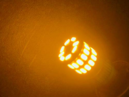 『まめ電(MAMEDEN) LED T10 T16 兼用LED MIRA-SMD 12V 24V 両対応 (2:アンバー)』の8枚目の画像