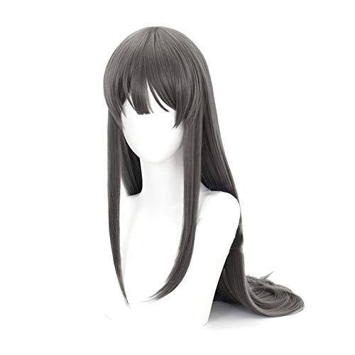 SGOT Sakurajima Mai Cosplay Perücke, Azusagawa Sakuta Cosplay Perücke, Anime Cosplay Wig, Halloween Kostüm Cosplay Party(Sakurajima Mai)