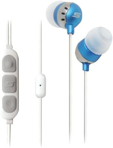 Scosche HP155MBL Noise Isolation Earbuds with Tapline II Remote Mic Blue product image
