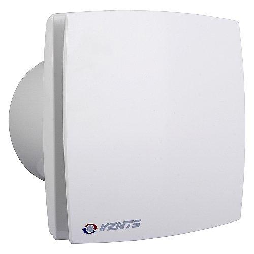 Bad-Lüfter Ventilator Wandlüfter 100 125 150 VENTS LD-TH /LDA-TH Nachlauf (Timer) Feuchtesensor (Weiss, Ø 125)
