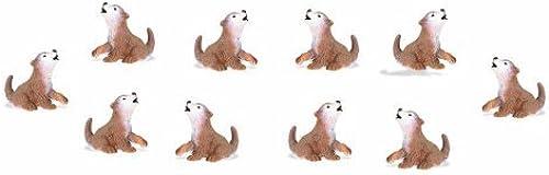 marca de lujo Safari Ltd Good Luck Minis Wolf Wolf Wolf Cubs by Safari Ltd.  hasta un 50% de descuento