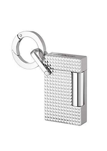 S.T Dupont D-027002KR Feuerzeug Schlüsselanhänger, Grau