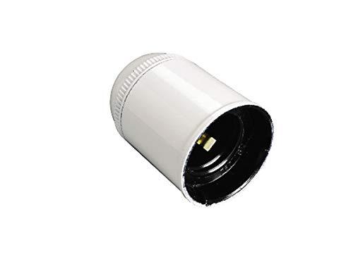 Fai Portalampade resina termoindurente E27, Colore Bianco