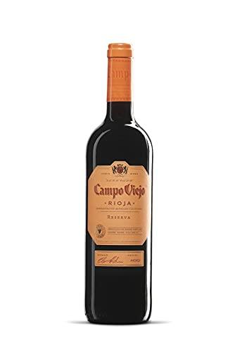 Campo Viejo Reserva Caja de madera Premium 3 botellas D.O.Ca Rioja Vino - 750 ml
