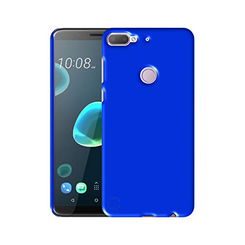 Case Creation Back case for HTC Desire 12+ (2018),HTC Desire 12 Plus 2018 (5.50-inch) Matte Finish Back case Cover Guard Color - Royal Blue